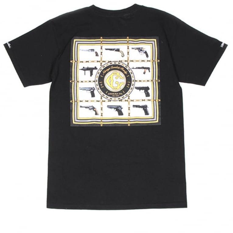 Crooks & Castles Armory T-shirt - Black