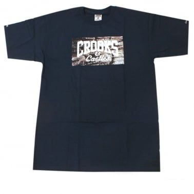 Bricks Logo T-shirt - Navy