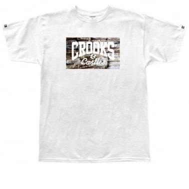 Bricks Logo T-shirt - White
