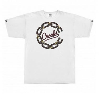 Chain Cordage T-shirt - White