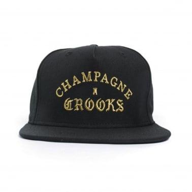 Champagne Crooks Snapback