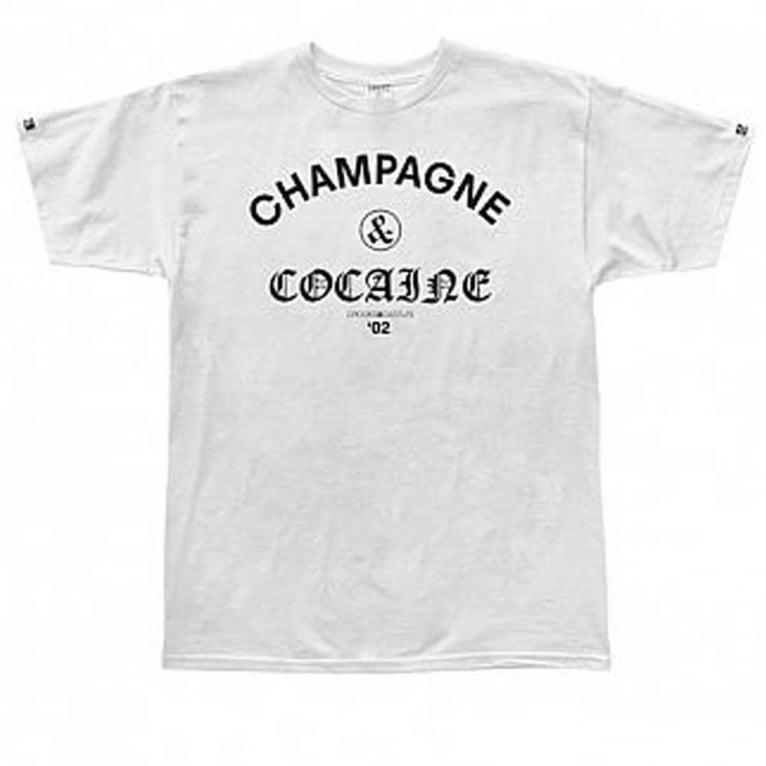 Crooks & Castles Champagne T-shirt - White