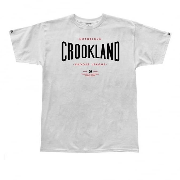 Crooks & Castles Crookland T-shirt - White