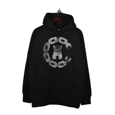 Currency Hooded Sweater - Black