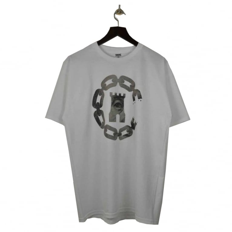 Crooks & Castles Currency T-shirt - White