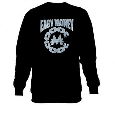 Easy Money Crewneck Sweatshirt - Black