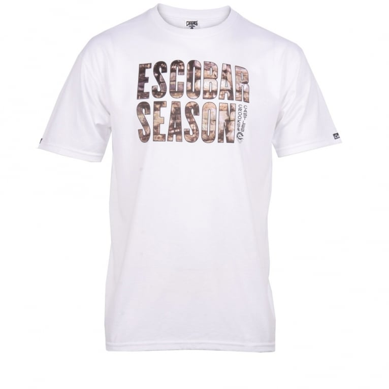 Crooks & Castles Escobar T-shirt - White