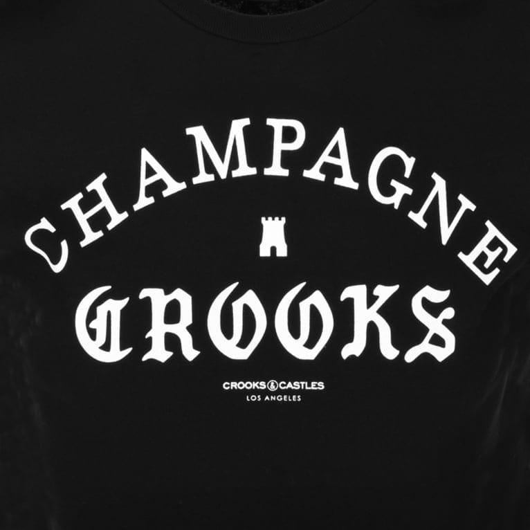 Crooks & Castles Four Cees T-shirt - Black