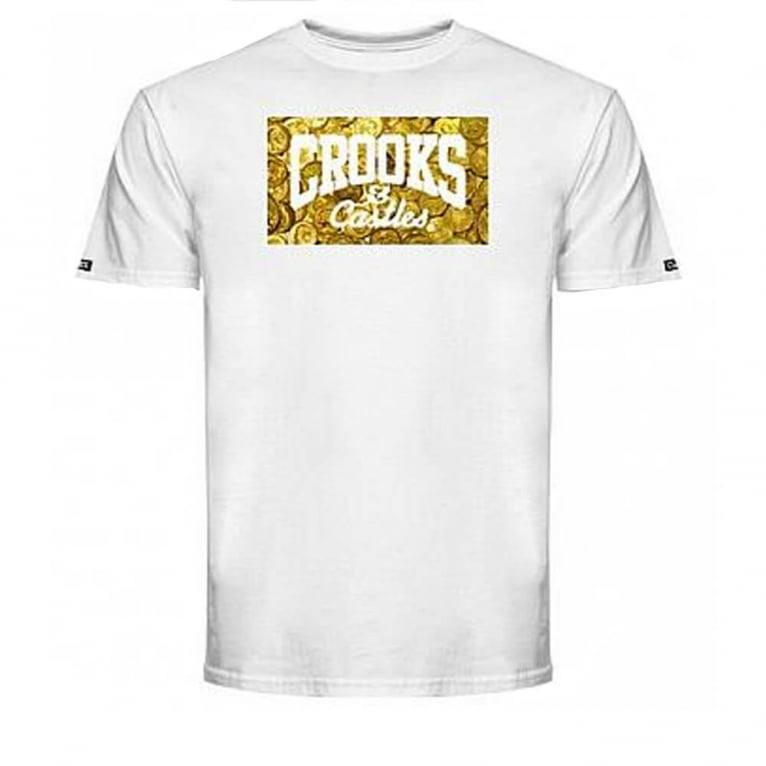 Crooks & Castles Gettin' Guap T-shirt - White