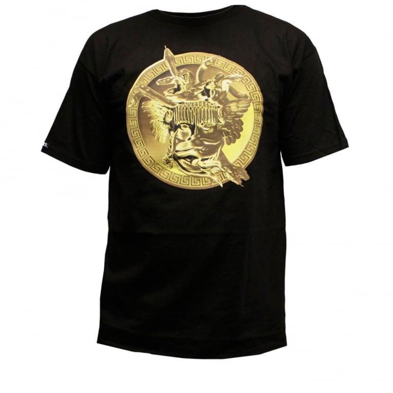 Crooks & Castles Gold Plated T-shirt - Black