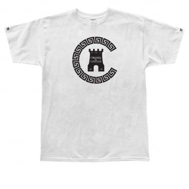 Greco Chain T-shirt - White