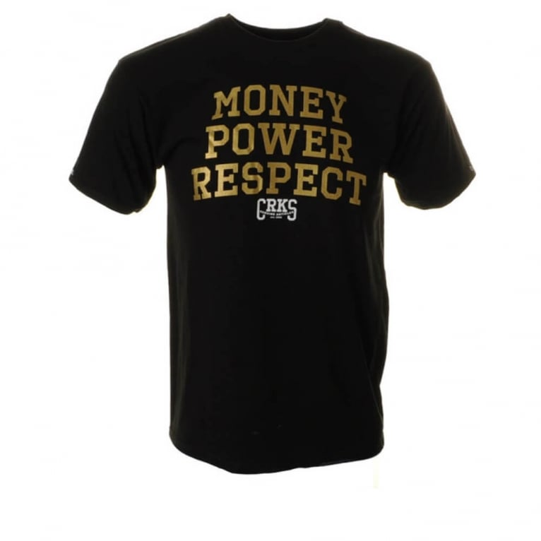 Crooks & Castles M.P.R. T-shirt - Black