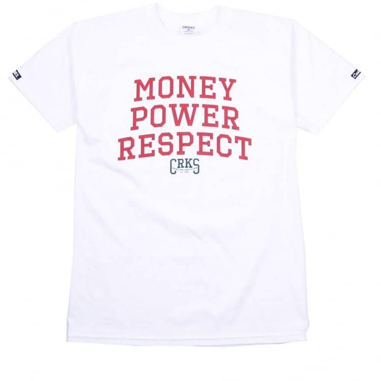 Crooks & Castles M.P.R. T-shirt - White