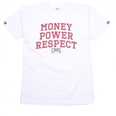 M.P.R. T-shirt - White