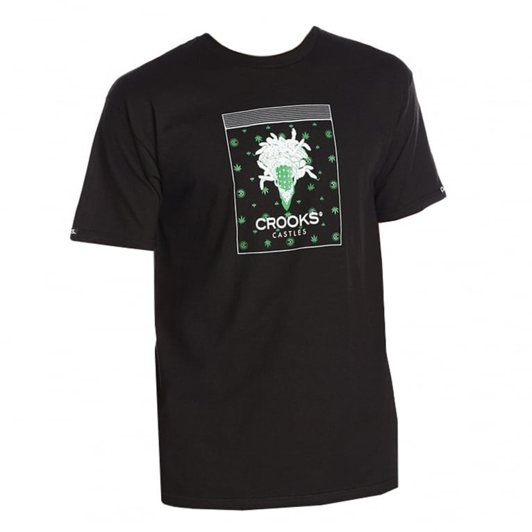 Crooks & Castles Medusa T-shirt - Black