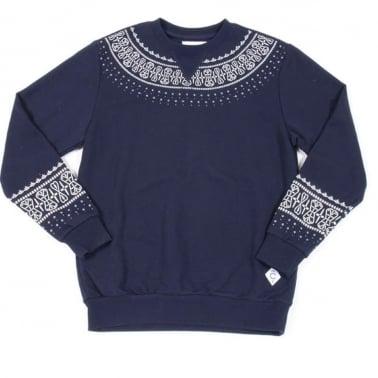 Native Crewneck Sweatshirt - True Navy