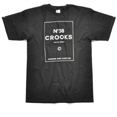 No. 38 Crooks T-shirt - Black