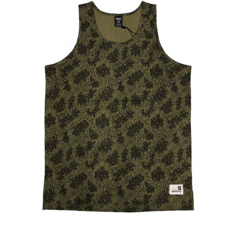 Crooks & Castles Outfitters Tank Top - Camo