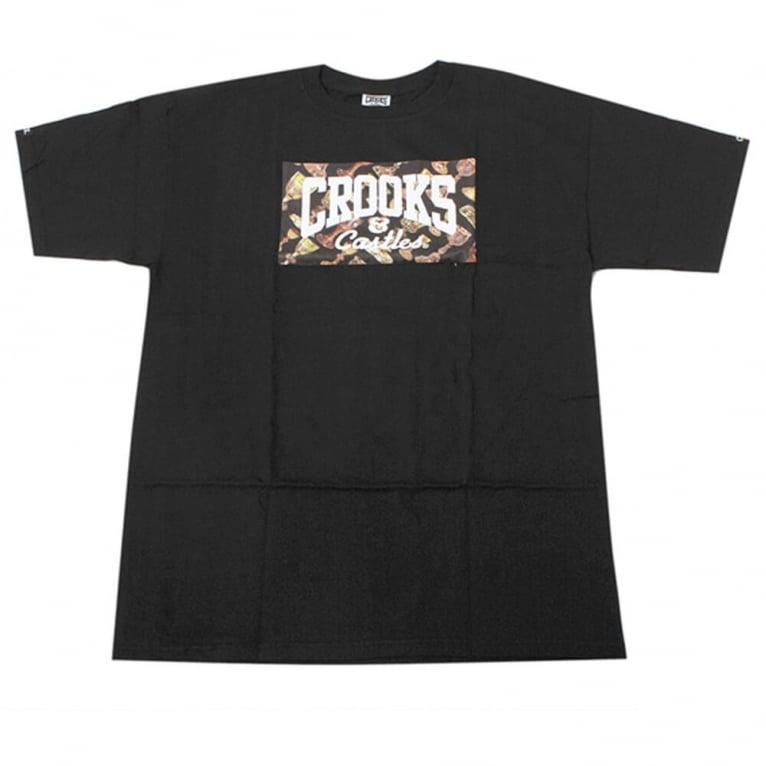 Crooks & Castles Pimp Cup T-shirt - Black