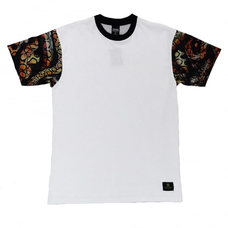 Crooks & Castles Python T-shirt - White