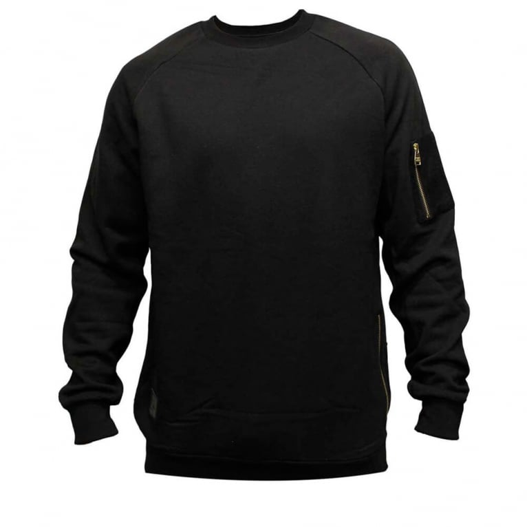 Crooks & Castles Ransack Crewneck Sweatshirt - Black