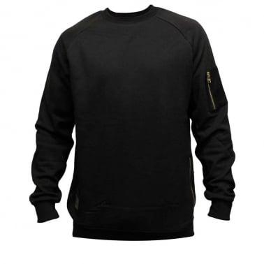 Ransack Crewneck Sweatshirt - Black