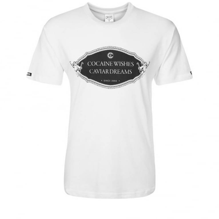 Crooks & Castles Rich 'n' Shameless T-shirt - White