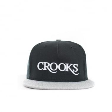 Crooks   Castles Serif Strapback 126a270beb85