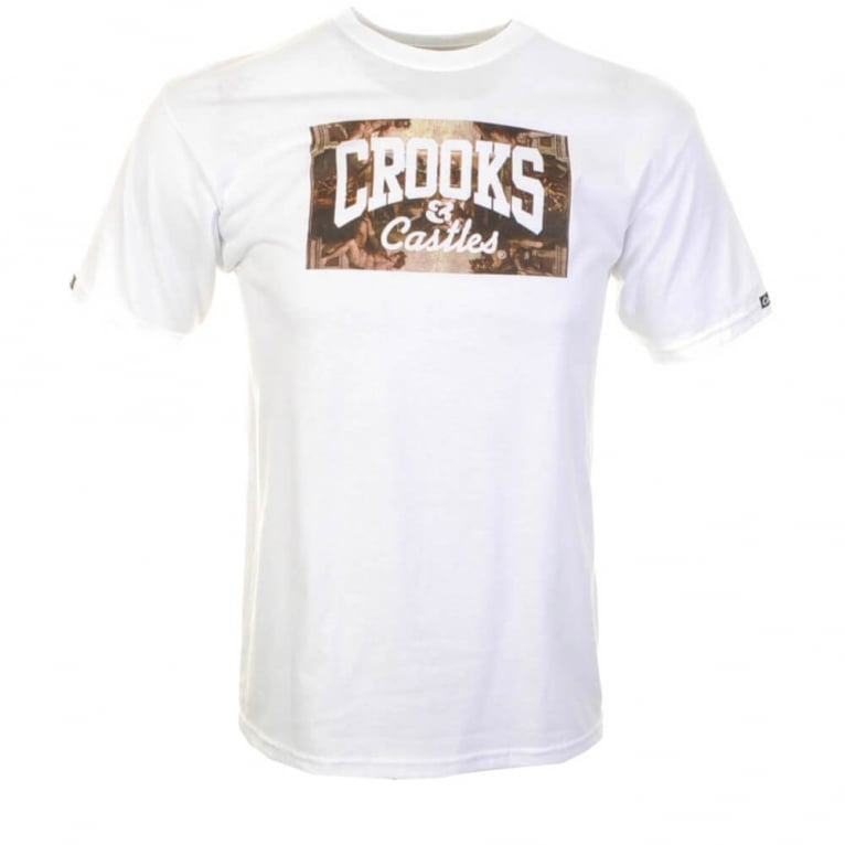 Crooks & Castles Solidarity T-shirt - White