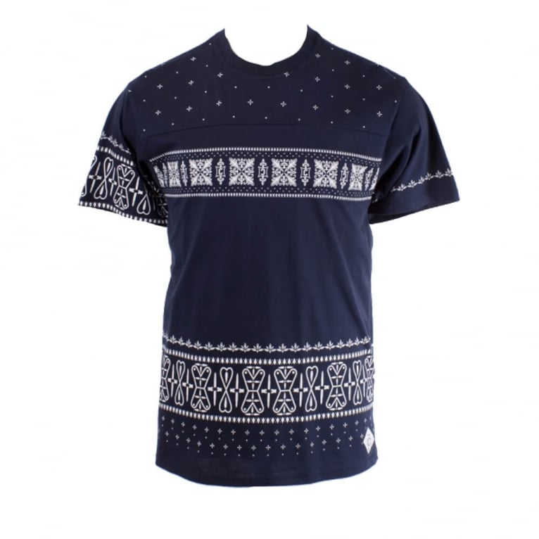 Crooks & Castles Sovereign T-shirt - True Navy