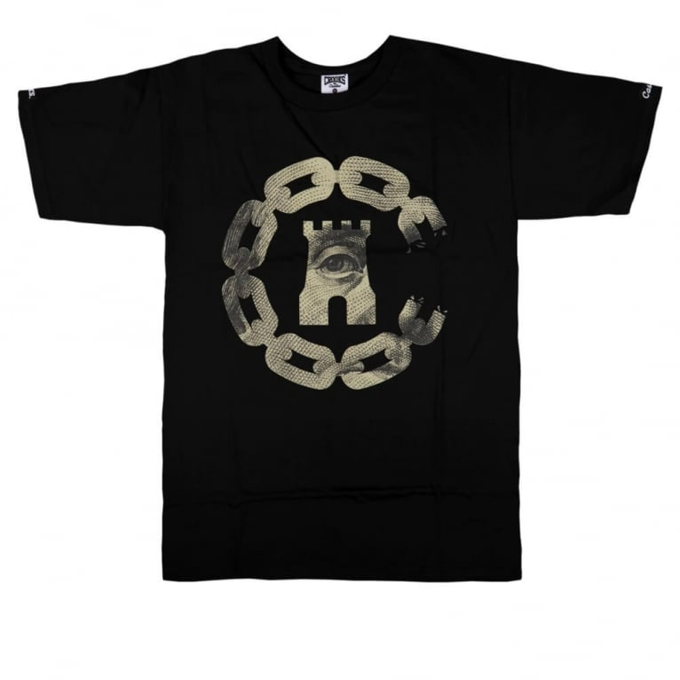 Crooks & Castles The Currency Chain T-shirt - Black
