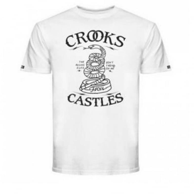 Crooks & Castles Tread On Me T-shirt - White