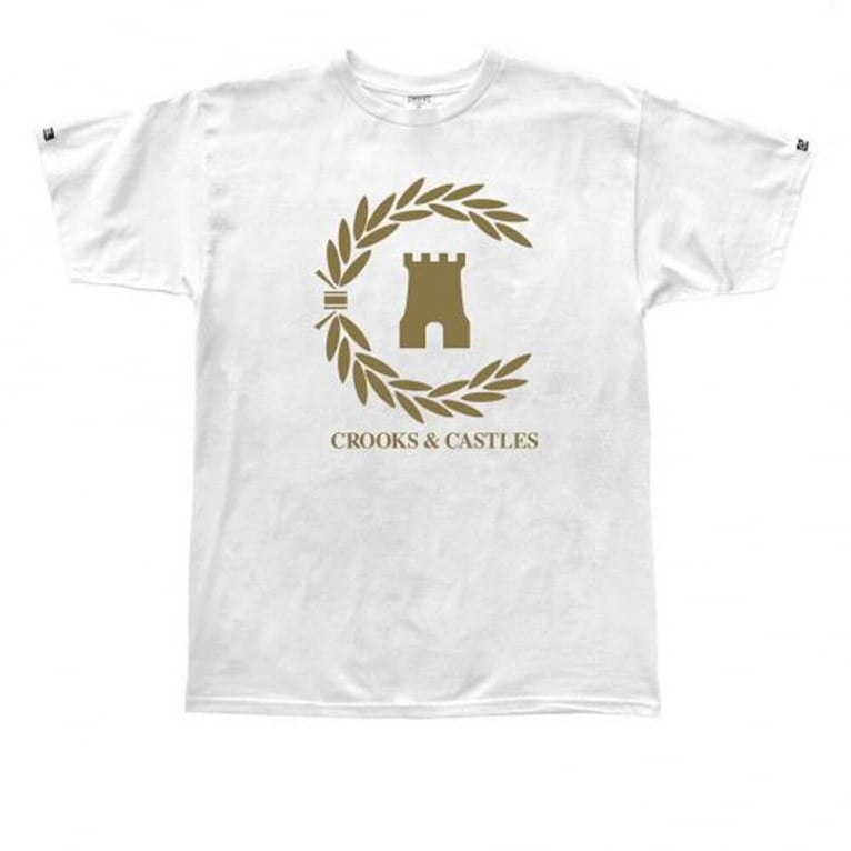 Crooks & Castles Victory T-shirt - White