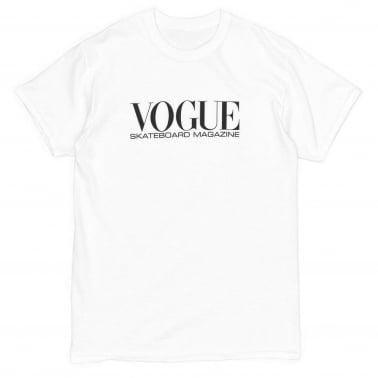 Vogue Skateboarding T-Shirt - White