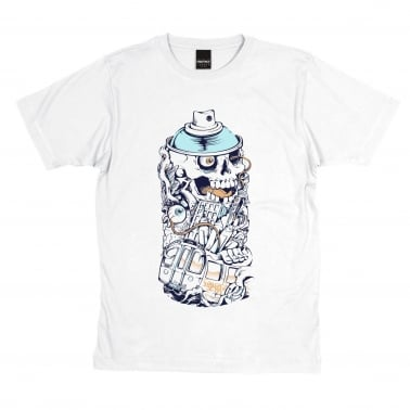 Can T-Shirt - White