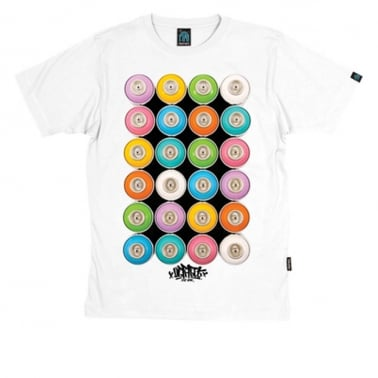 Cans Tee White