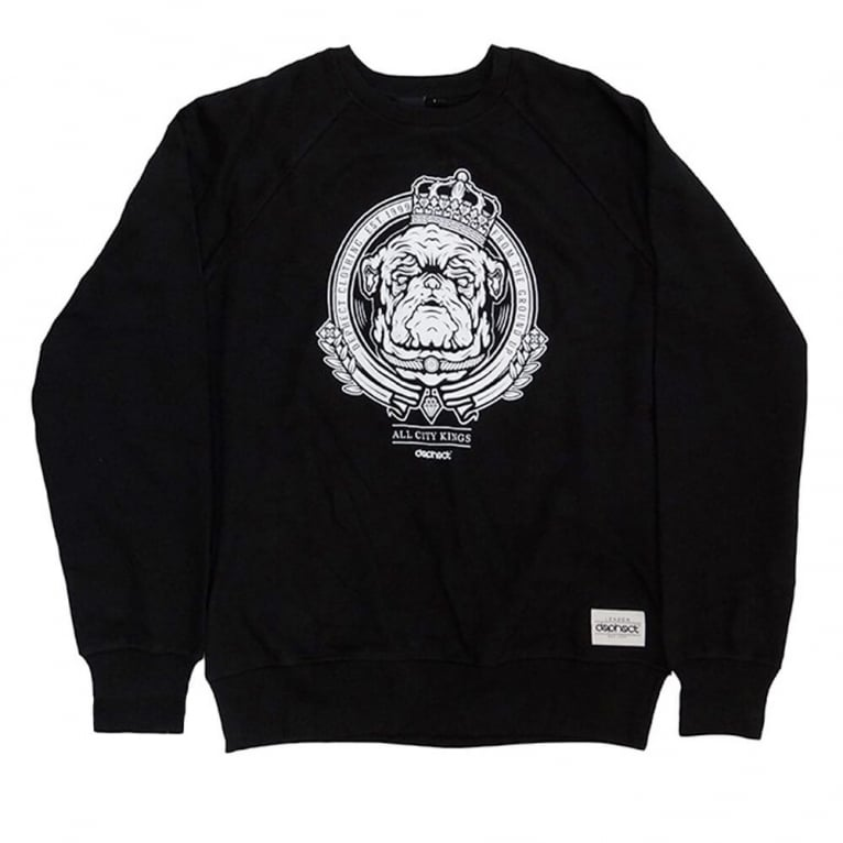 Dephect City Kings Crewneck Sweatshirt - Black