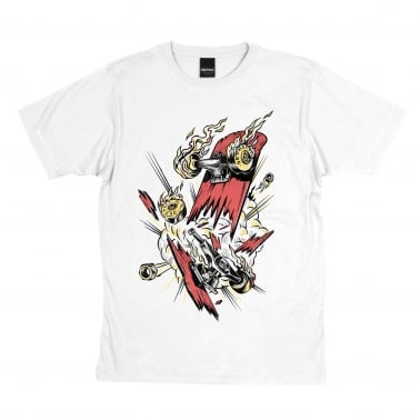 Decked T-Shirt - White