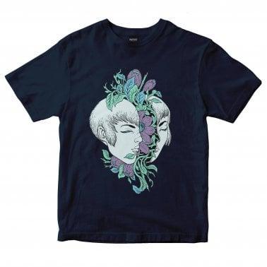 c35dfba5947 Floral T-Shirt - Navy