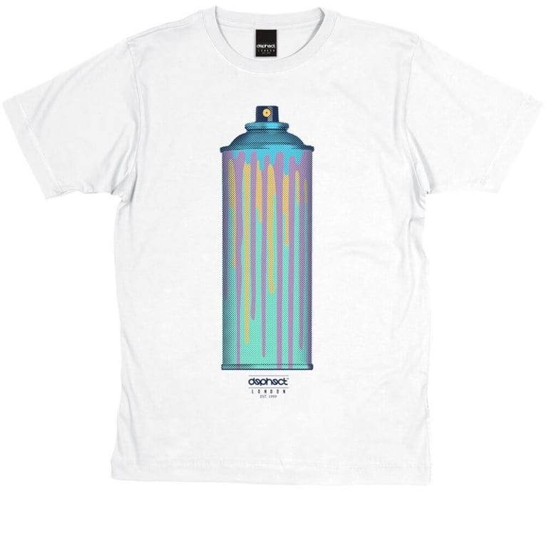 Dephect Full Colour T-shirt - White