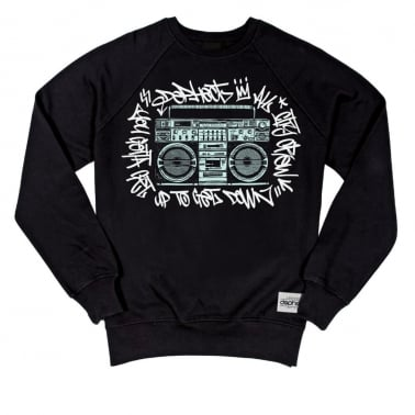 Get Down Crewneck Sweatshirt - Black