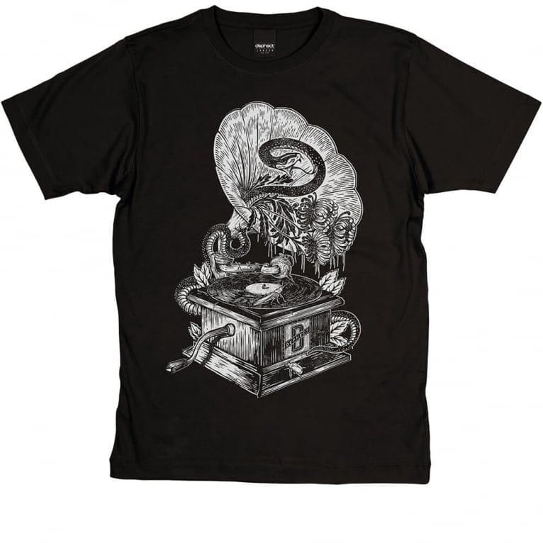 Dephect Gramophone T-shirt - Black