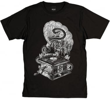 Gramophone T-shirt - Black
