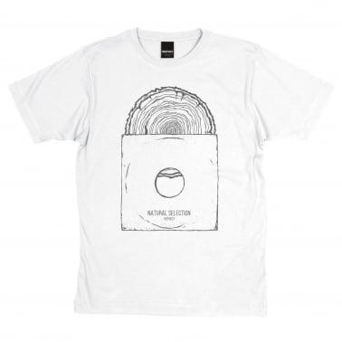 Natural Selection T-Shirt - White