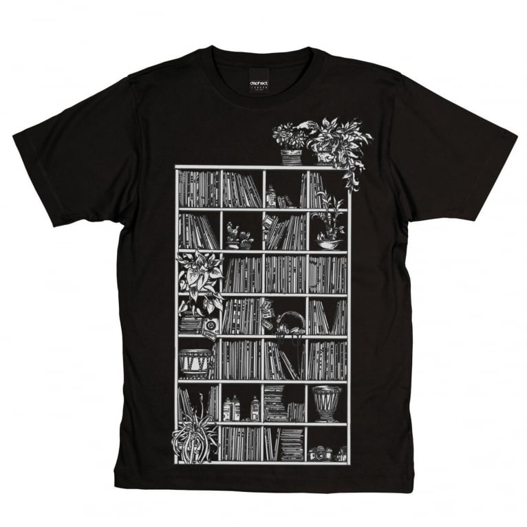 Dephect Shelves T-Shirt - Black