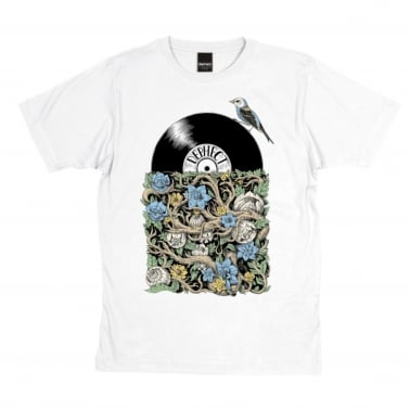 Sleeve T-Shirt - White