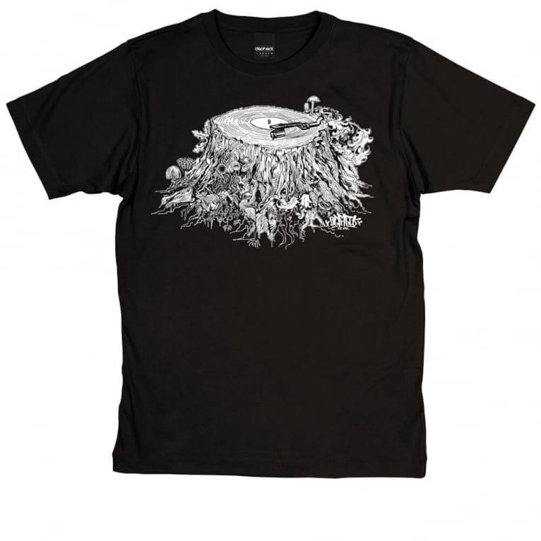 Dephect Stump T-shirt - Black
