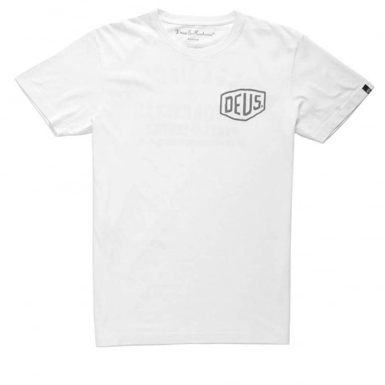 Deus Ex Machina Cangu T-shirt - White