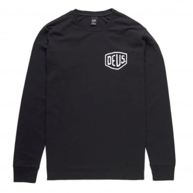 Venice Long Sleeve T-Shirt - Black