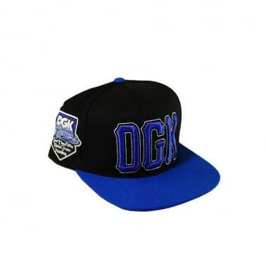 Getters Snapback - Black/royal